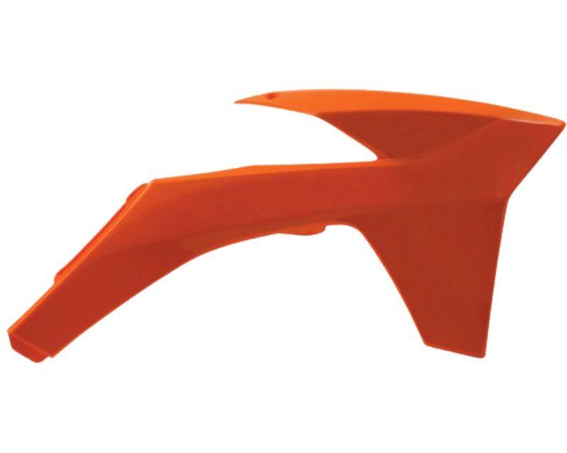 Acerbis 2205440237 Radiator Shroud Orange KTM SX150 11-12