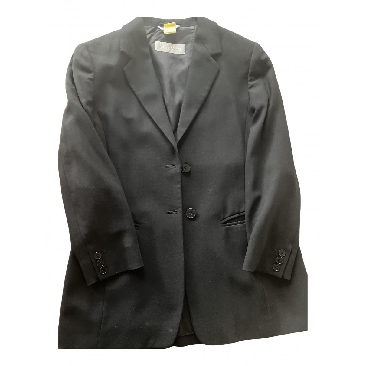 Max Mara s - Veste   pour femme en laine - noir