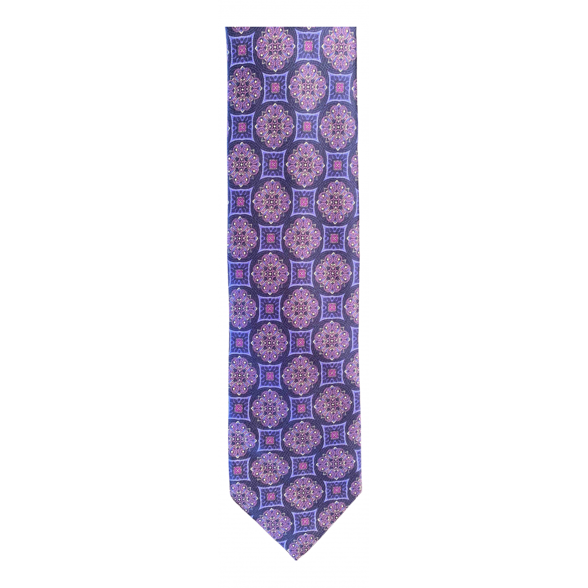 Cifonelli - Cravates   pour homme en soie - violet