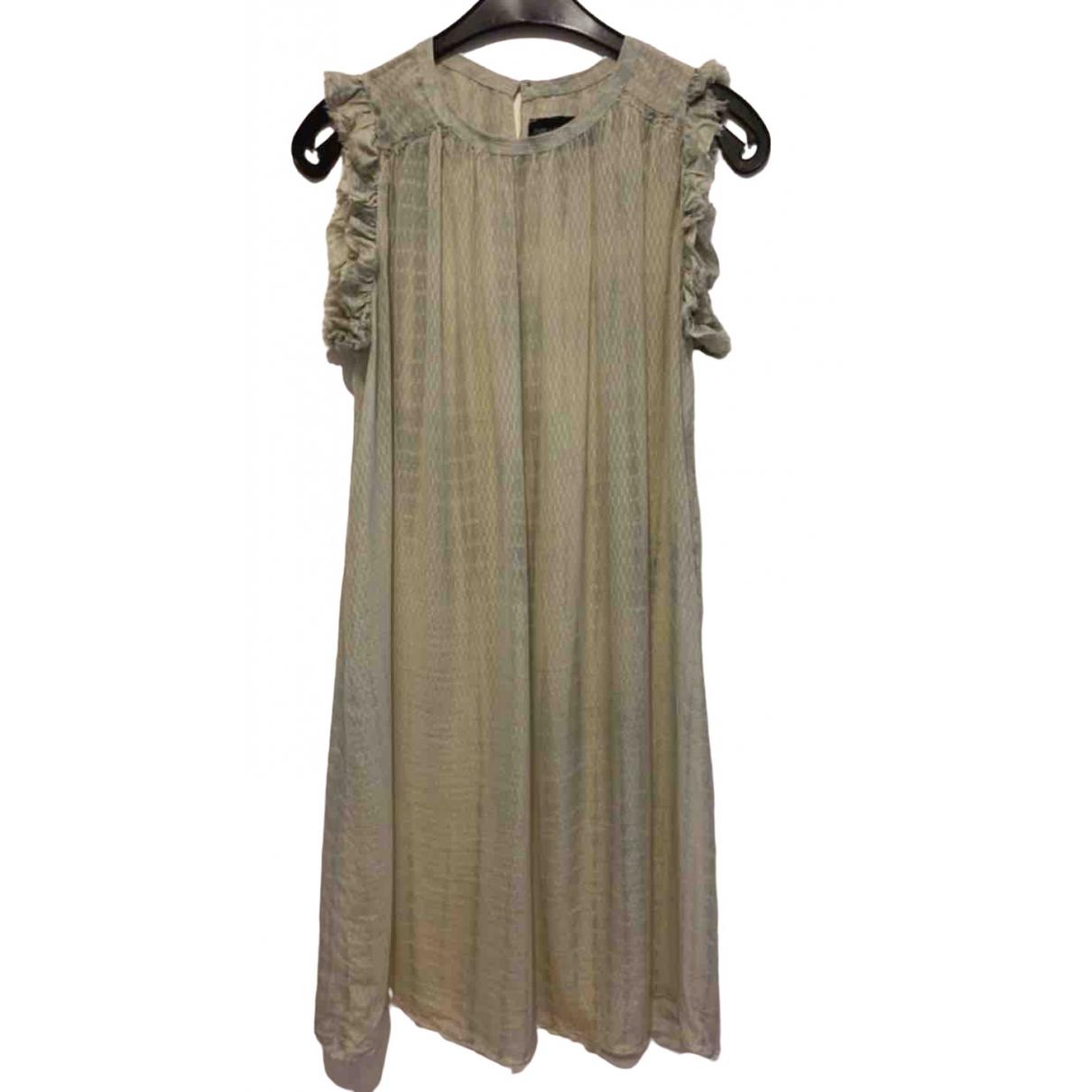 Zadig & Voltaire \N Kleid in  Grau Seide