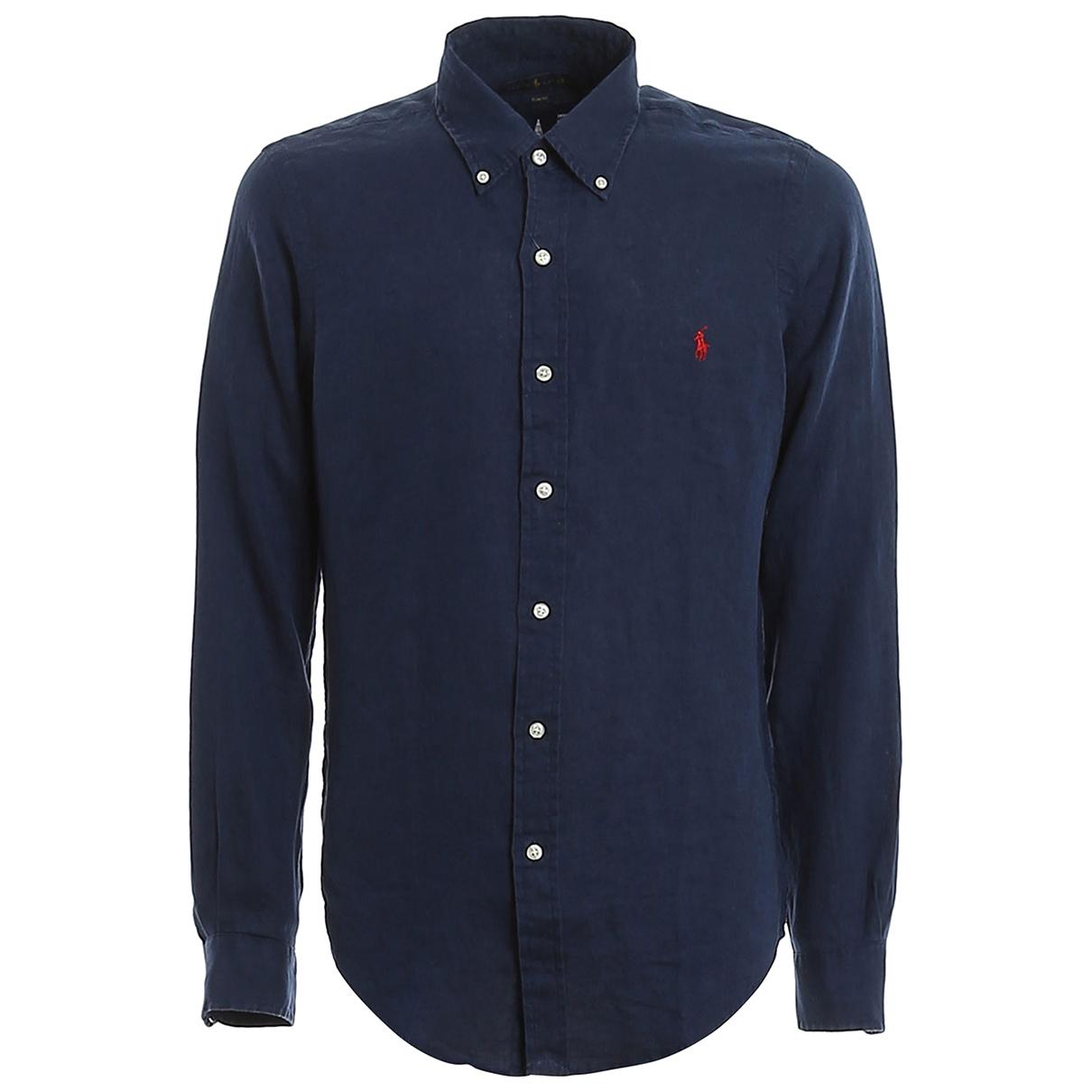 Polo Ralph Lauren \N Blue Cotton Knitwear for Women 42 IT