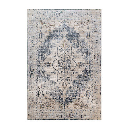 Belmont 1 Rectangular Indoor Rugs, One Size , Beige
