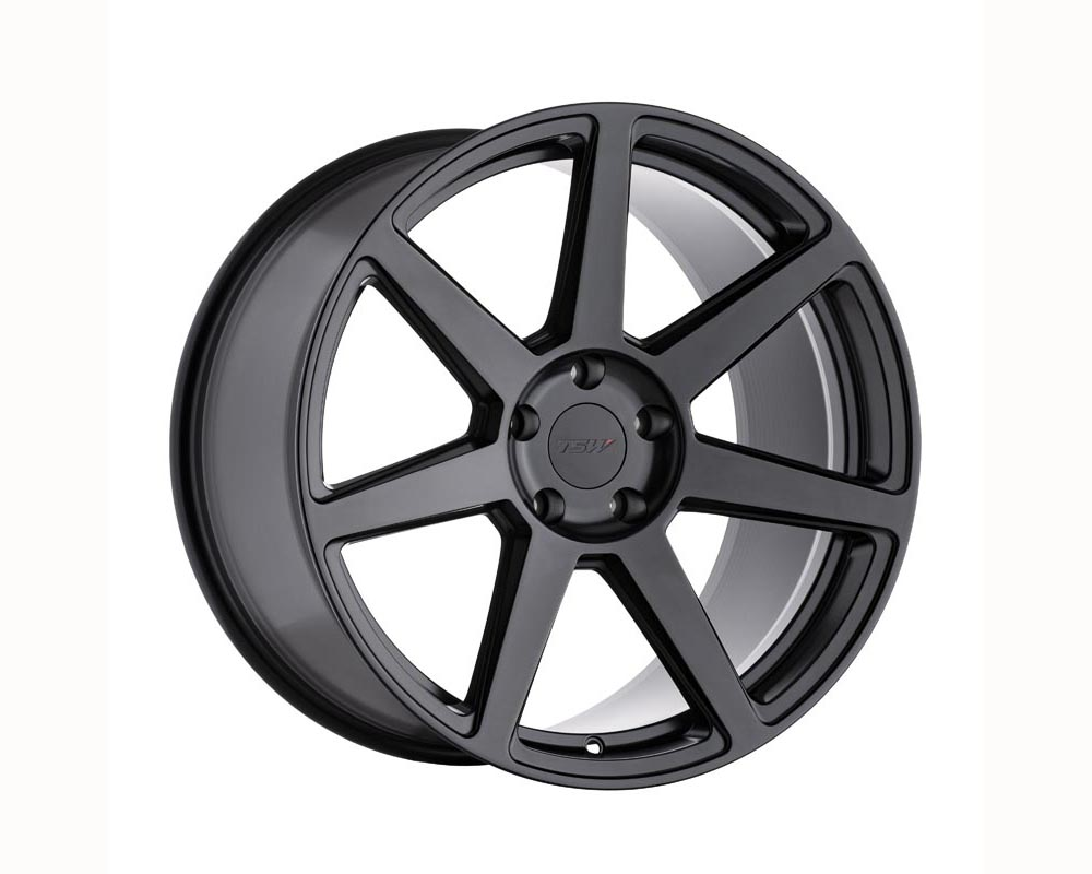 TSW Blanchimont Wheel 19x8.5 5x108 40 Semi Gloss Black