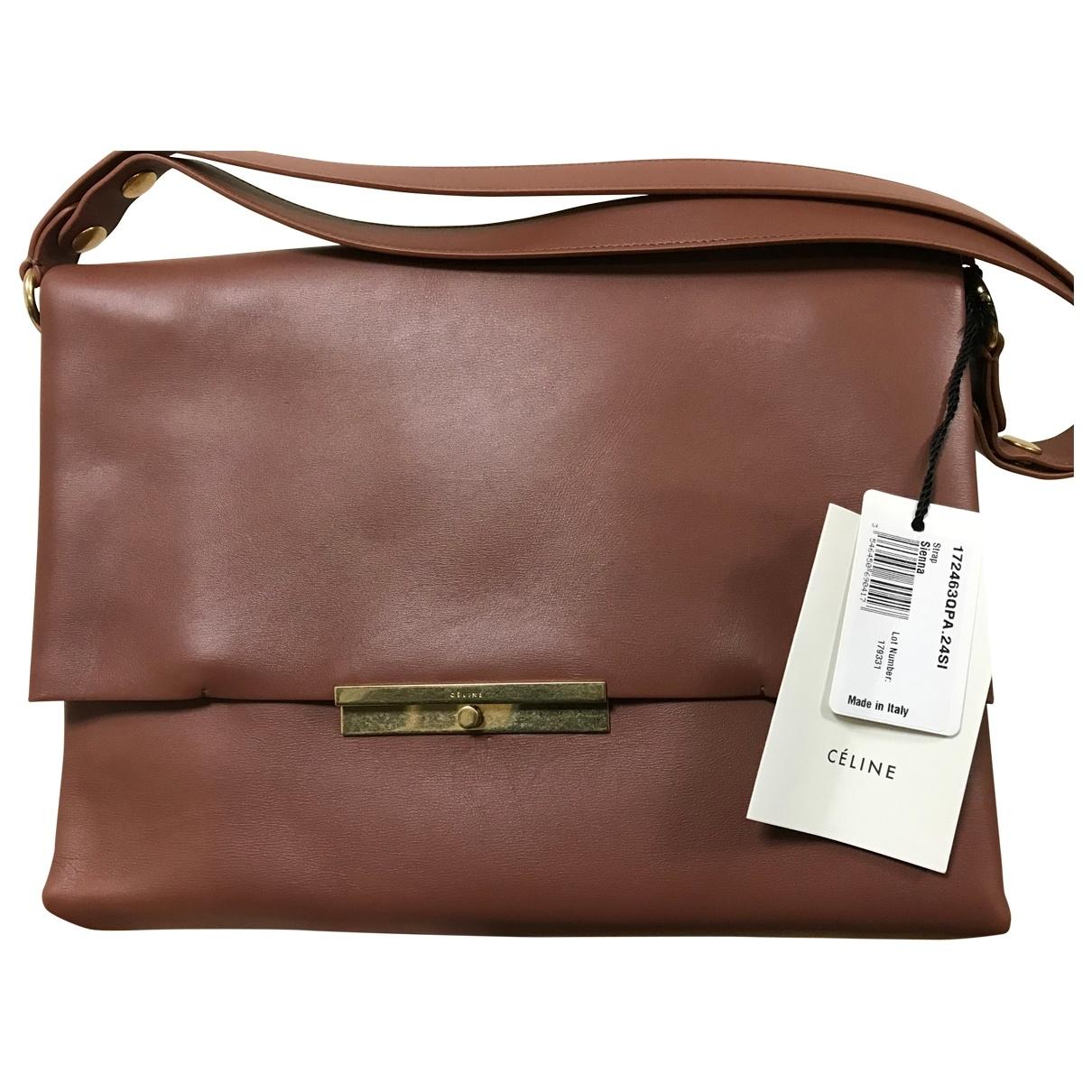 Celine Blade Leather handbag for Women \N