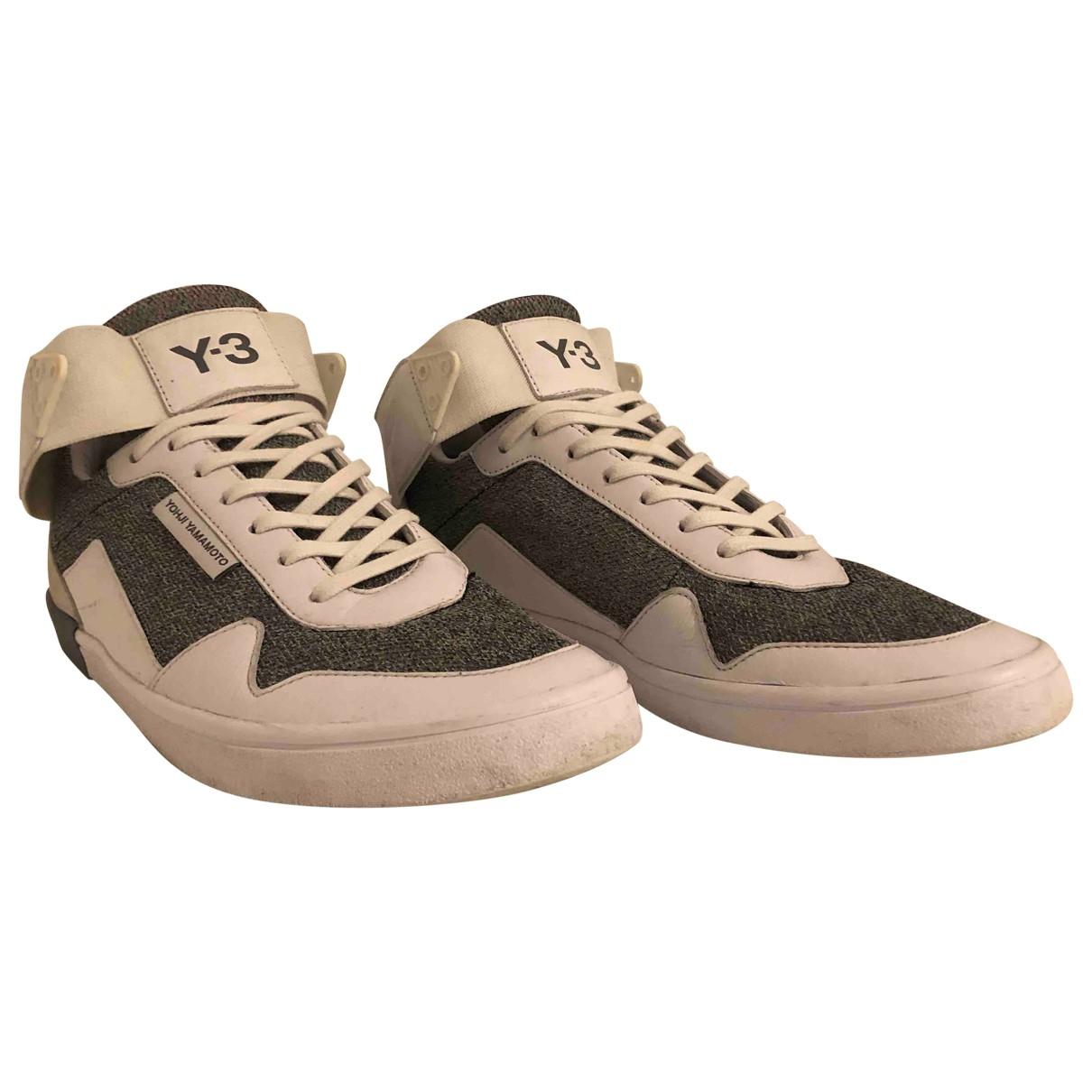 Yohji Yamamoto \N Sneakers in  Weiss Leder