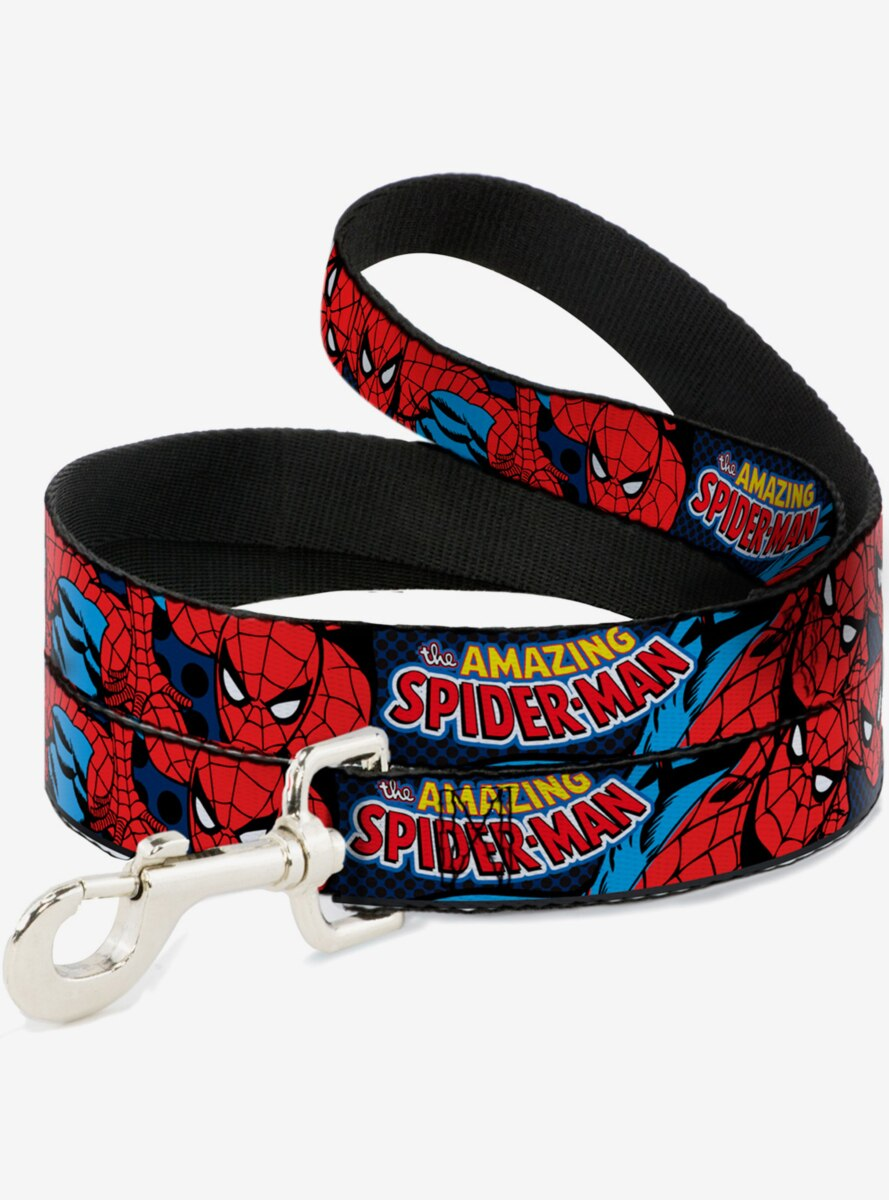 Marvel Amazing Spider-Man Dog Leash 6 Ft