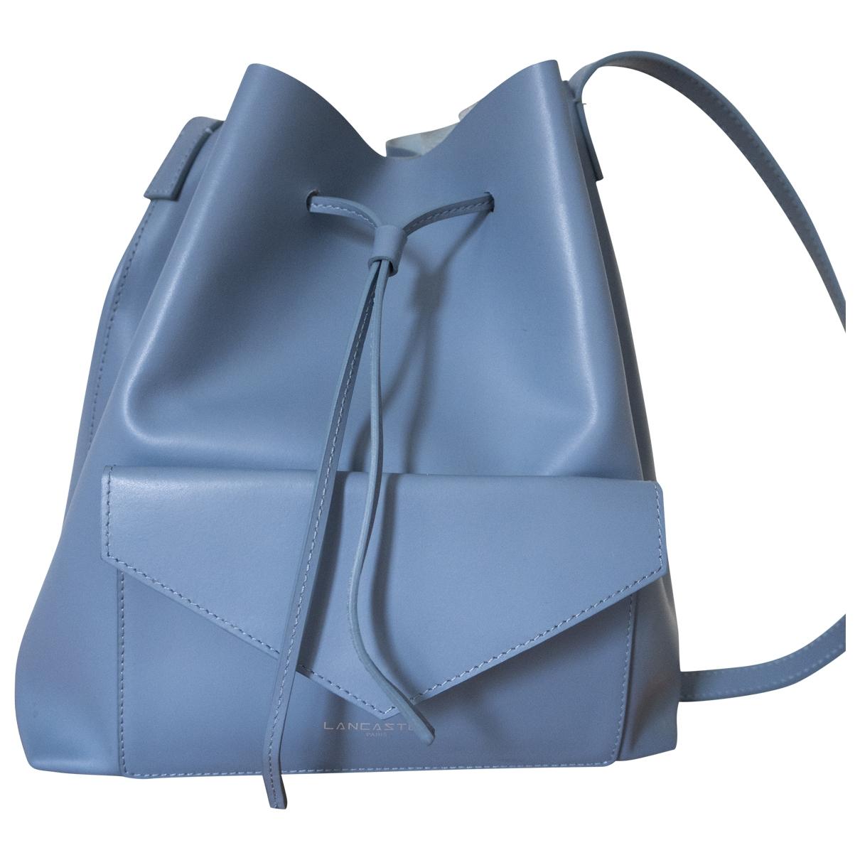 Lancaster \N Handtasche in  Blau Leder