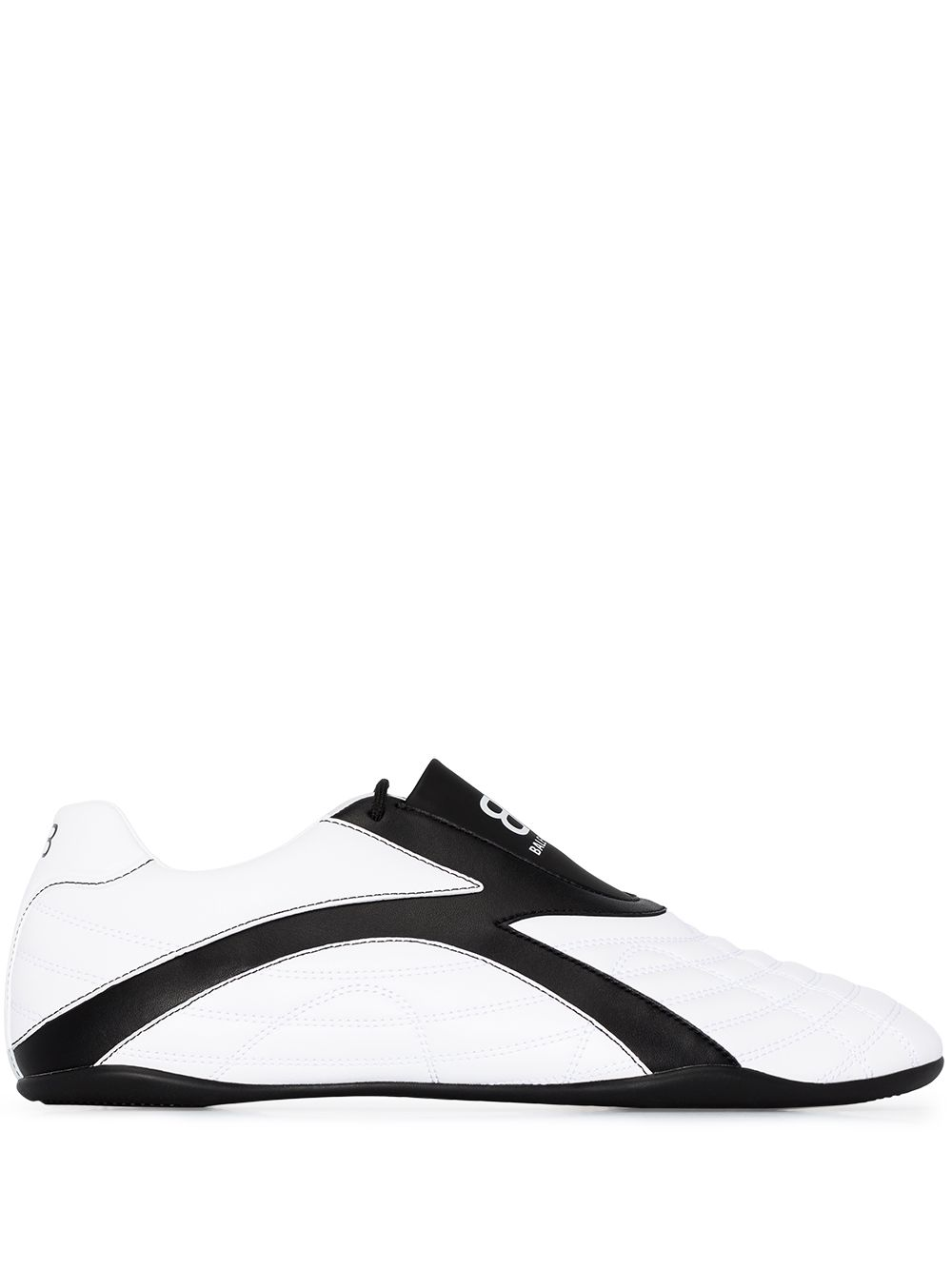 Leather Sneaker With Logo