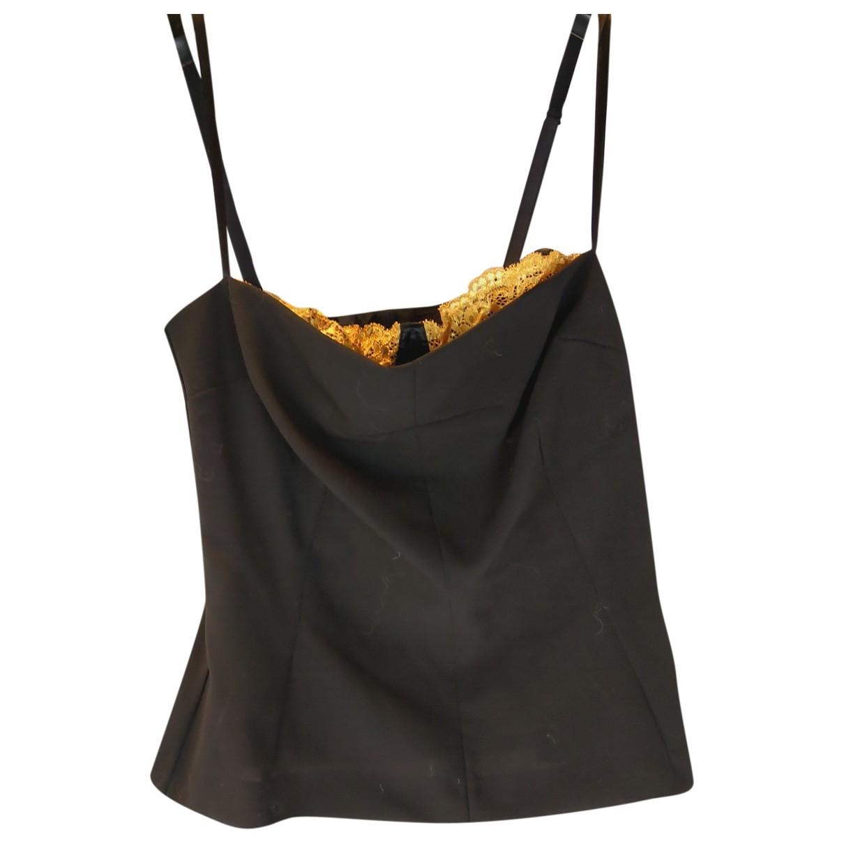 Dolce & Gabbana - Top   pour femme en laine - noir