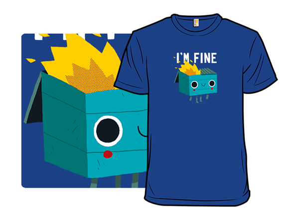 This Is Fine Remix T Shirt