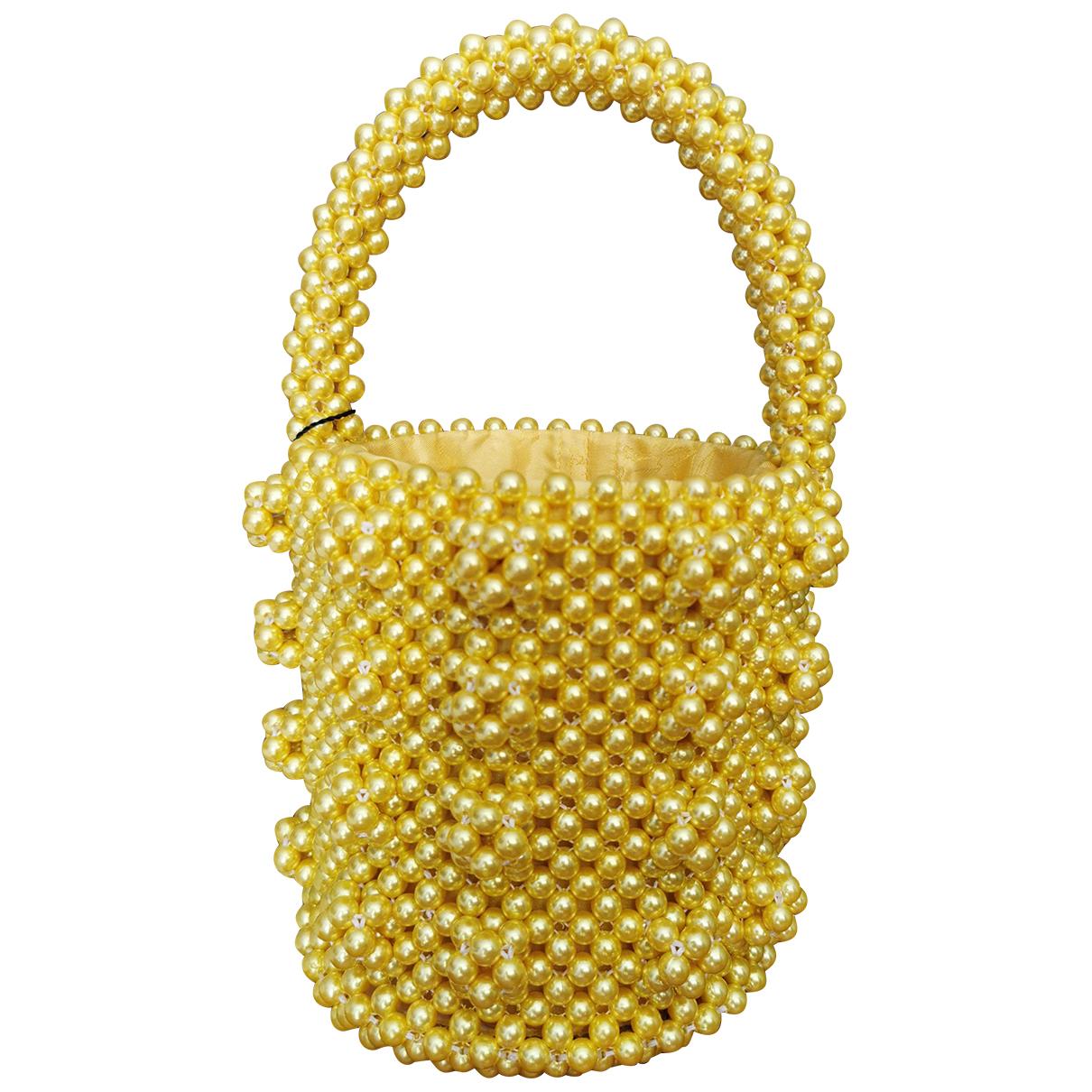 Shrimps \N Yellow handbag for Women \N
