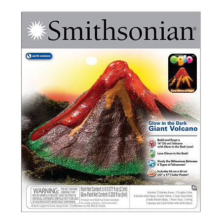 Nsi Smithsonian Giant Volcano Science Kit, One Size , Multiple Colors