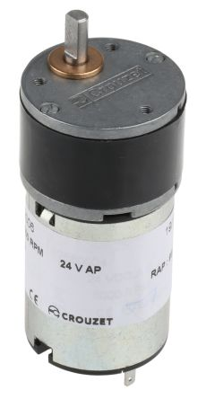 Crouzet , 24 V dc, 50 Ncm, Brushed DC Geared Motor, Output Speed 45 rpm