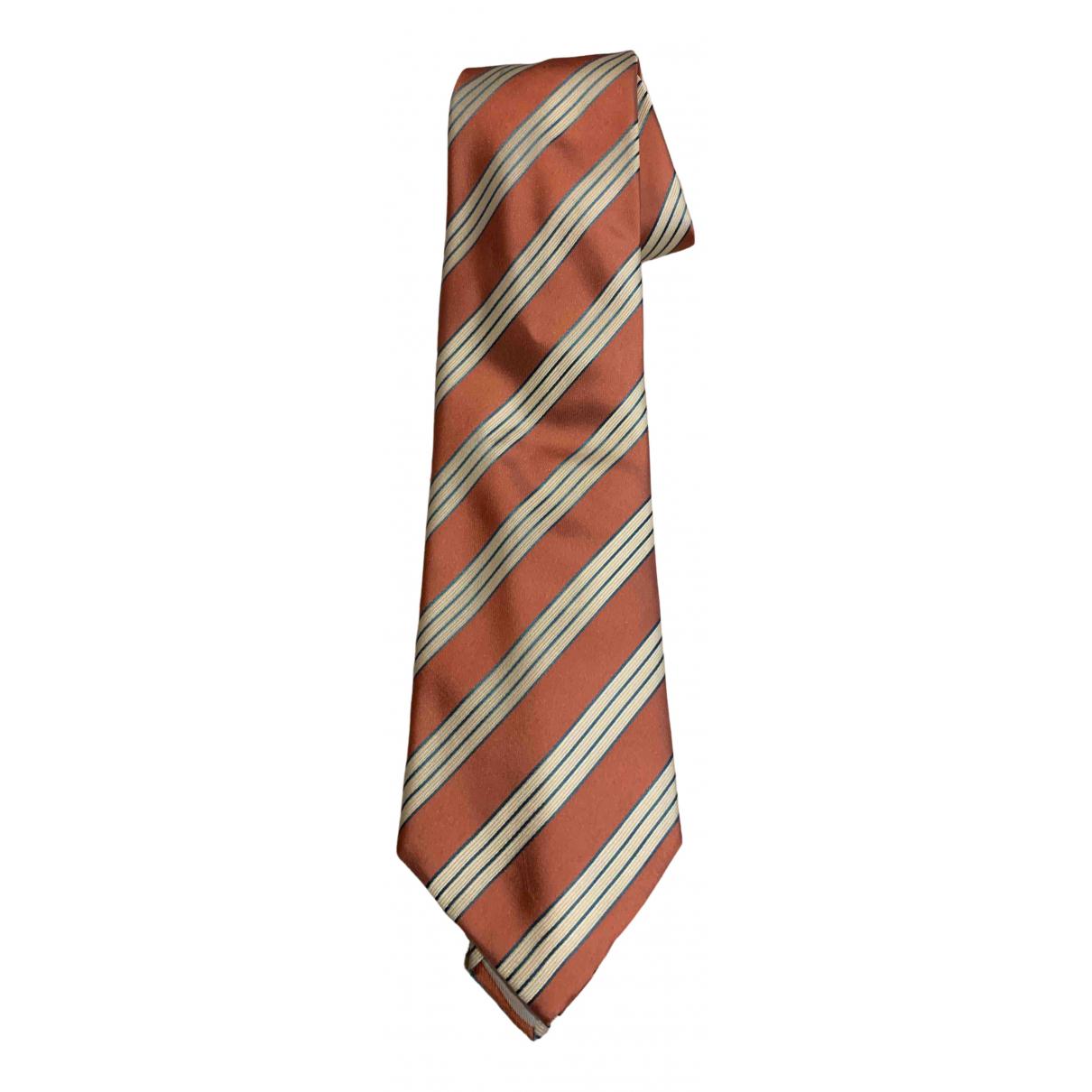 Loewe \N Krawatten in  Rosa Seide