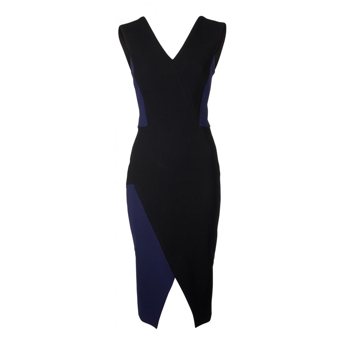 Victoria Beckham \N Kleid in  Schwarz Polyester