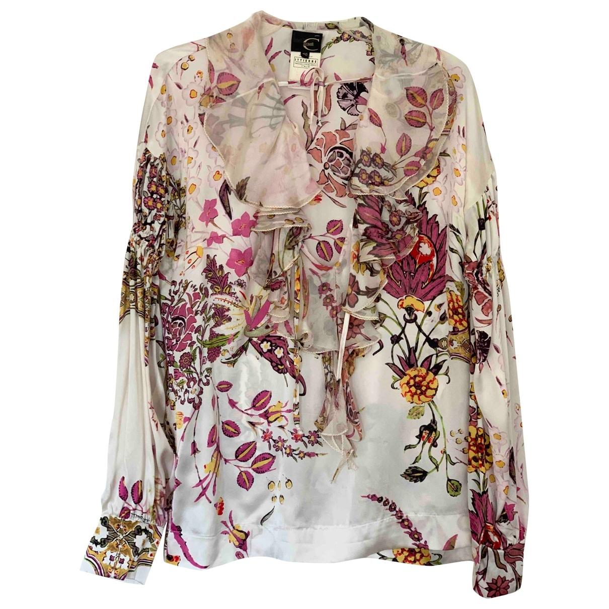 Just Cavalli \N Multicolour Silk  top for Women 46 IT