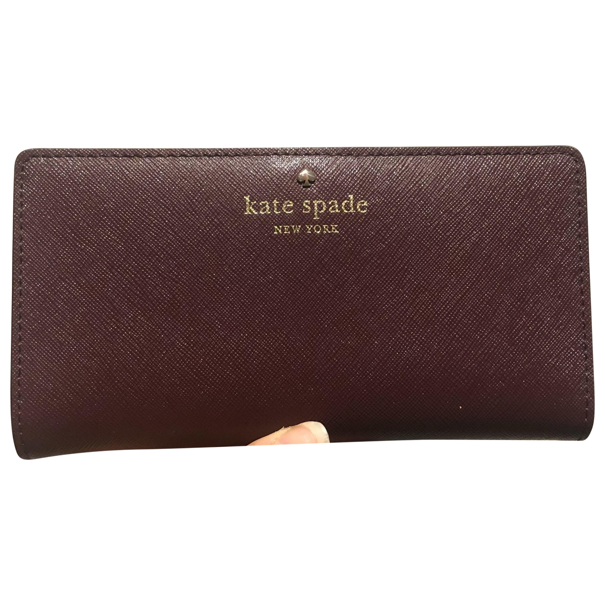 Tarjetero de Cuero Kate Spade