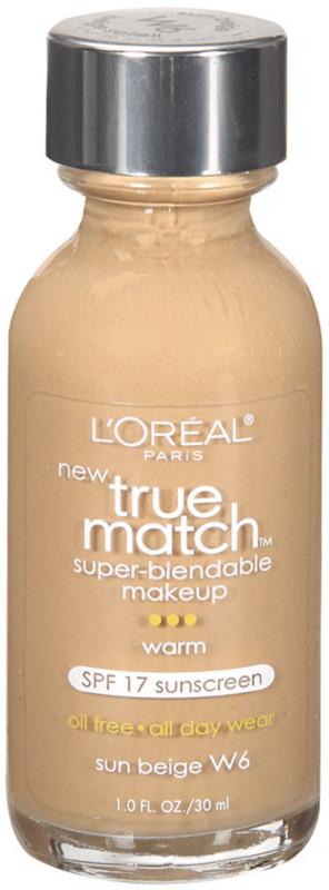 True Match Super-Blendable Foundation Makeup - Sun Beige