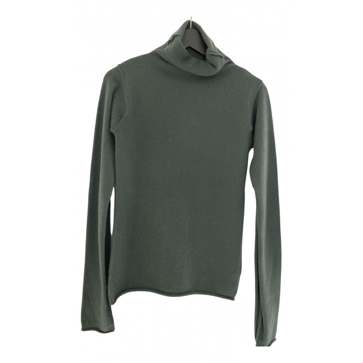 Kristensen Du Nord - Pull   pour femme en cachemire - vert