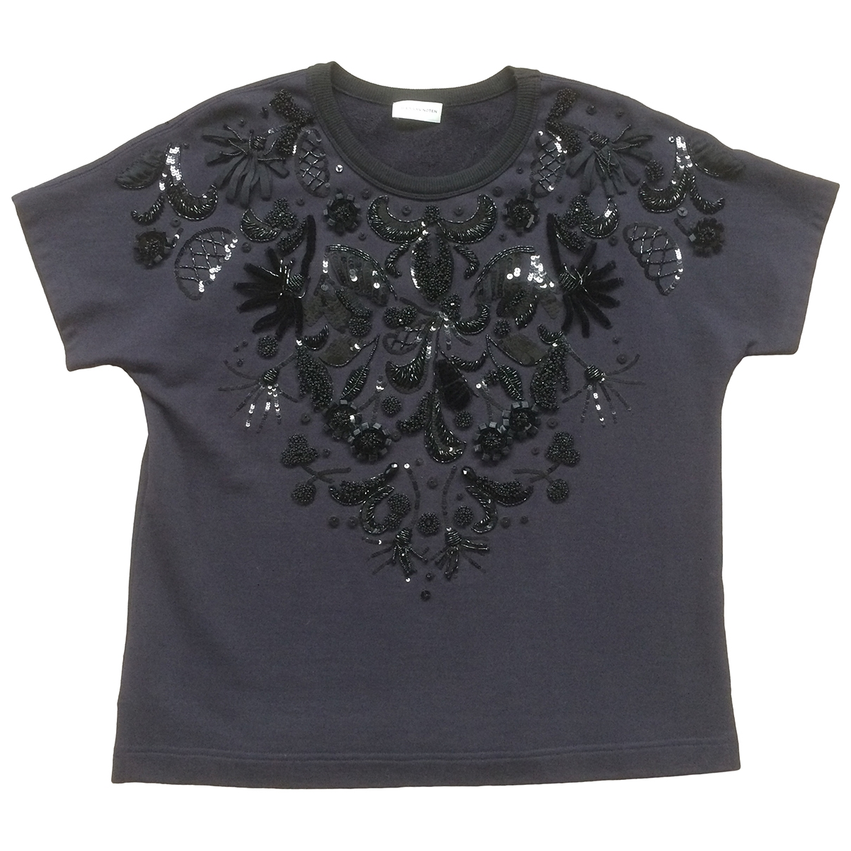 Dries Van Noten \N Navy Cotton  top for Women S International