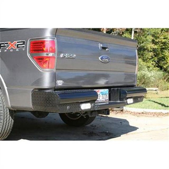 Fab Fours FF09-T1750-1 09-14 Ford F-150 Rear Ranch Bumper Bare