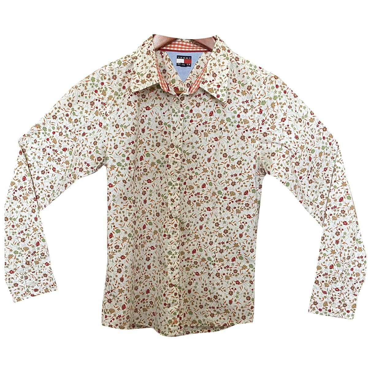 Tommy Hilfiger - Top   pour enfant en coton - multicolore