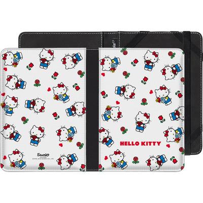 Amazon Fire HD 6 eBook Reader Huelle - Hello Kitty Flower Pattern von Hello Kitty