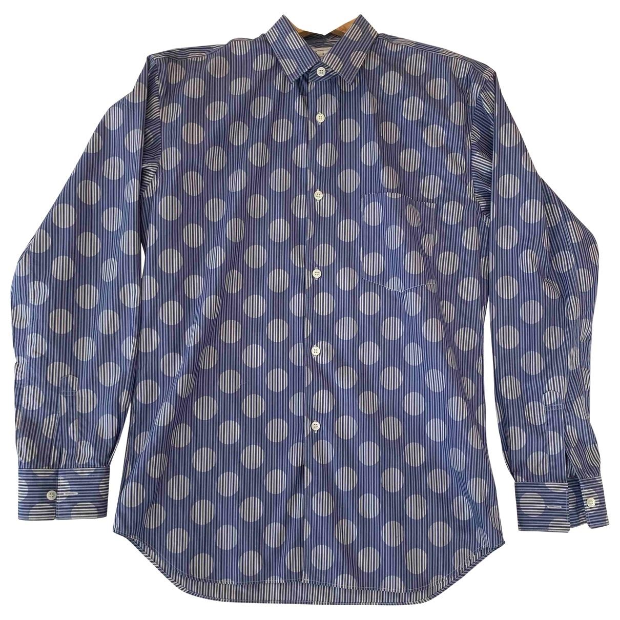 Comme Des Garcons \N Blue Cotton Shirts for Men S International
