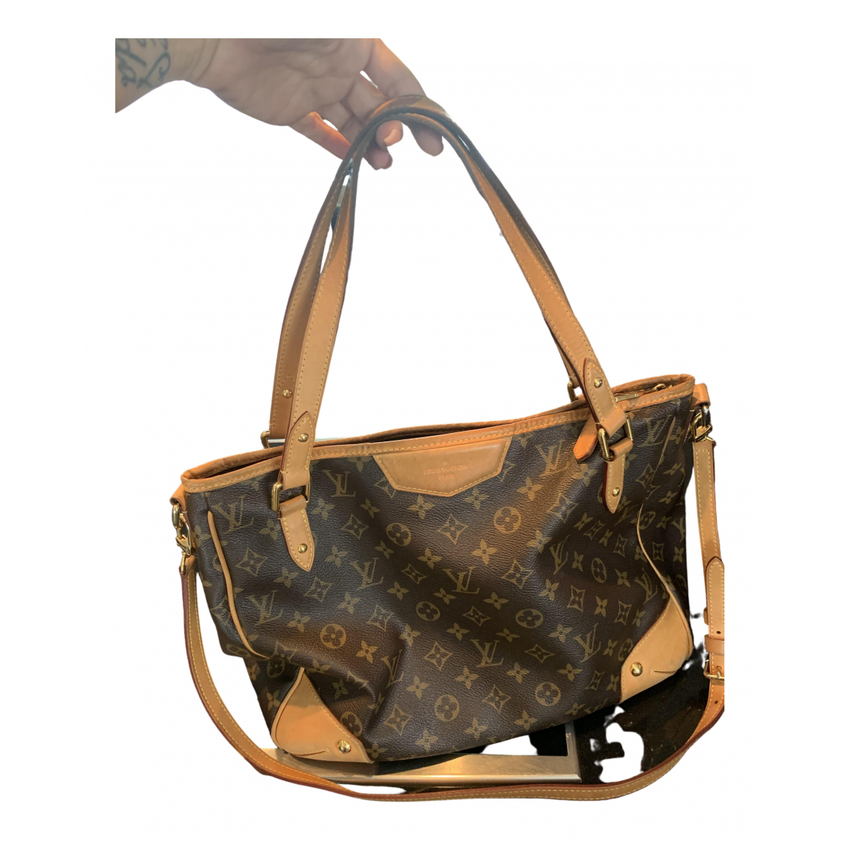Louis Vuitton Estrela Brown Cloth handbag for Women \N