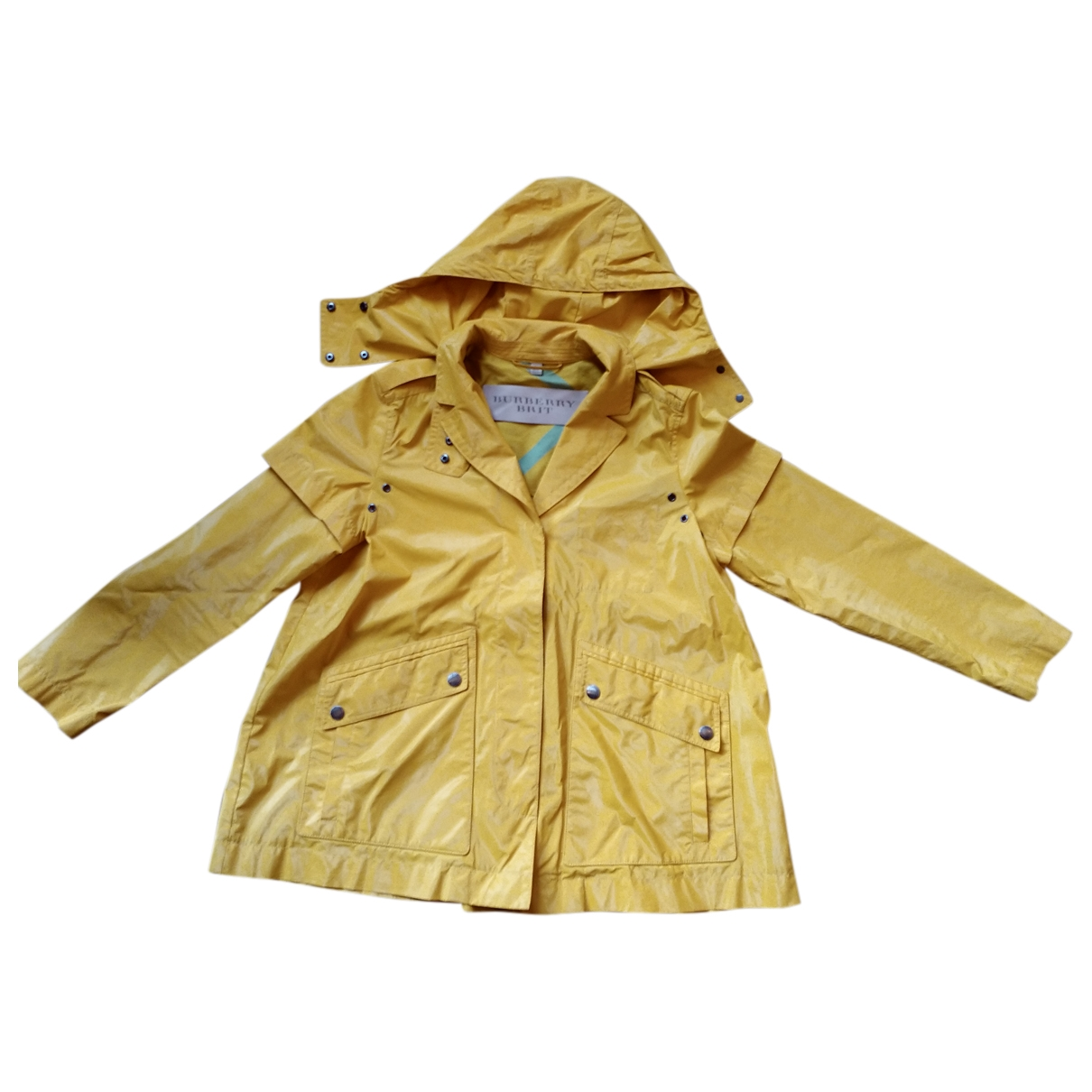 Burberry - Veste   pour femme en coton - jaune
