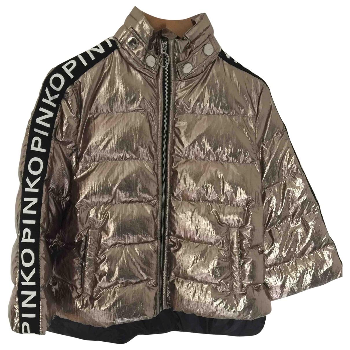 Pinko - Manteau   pour femme - argente