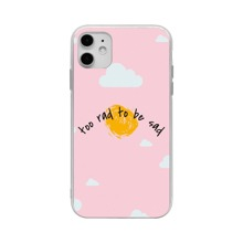 Cloud & Slogan Graphic iPhone Case