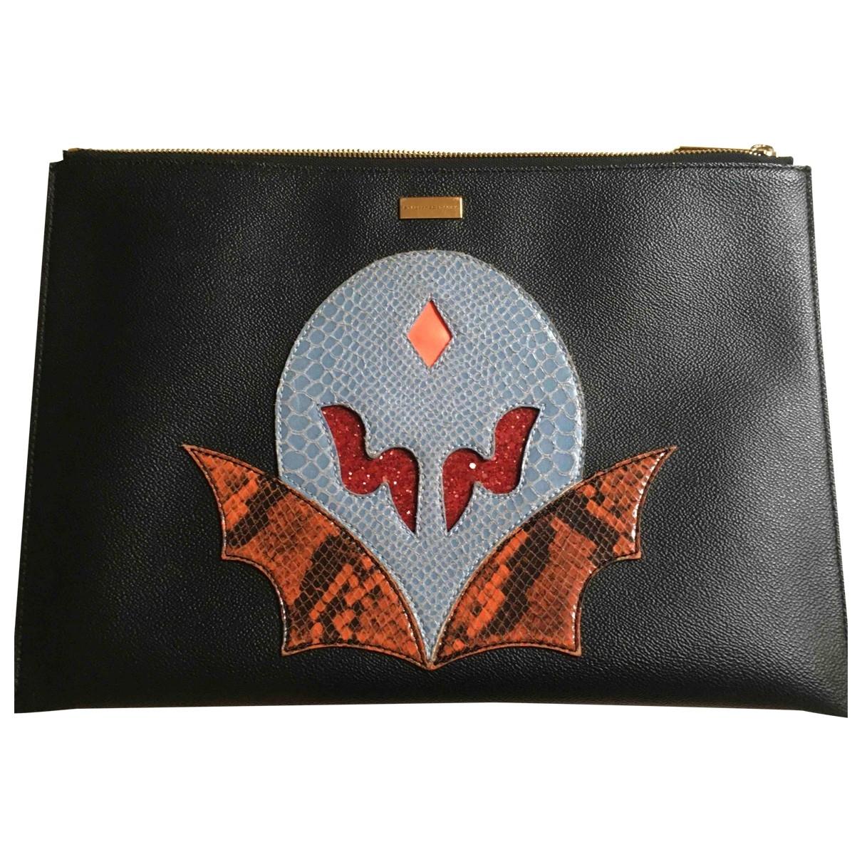 Stella Mccartney \N Black Cloth Clutch bag for Women \N