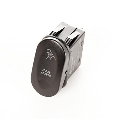 2-Position Rocker Switch with Laser Etch Rock Lights