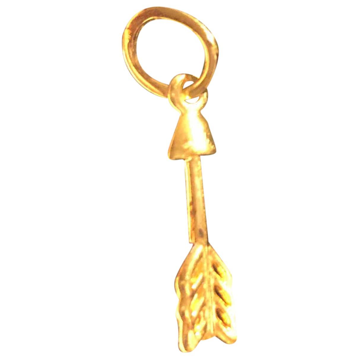 Pandora \N Anhaenger in  Gold Vergoldet