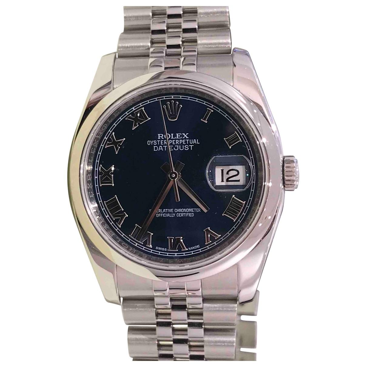 Rolex Datejust 36mm Silver Steel watch for Women \N