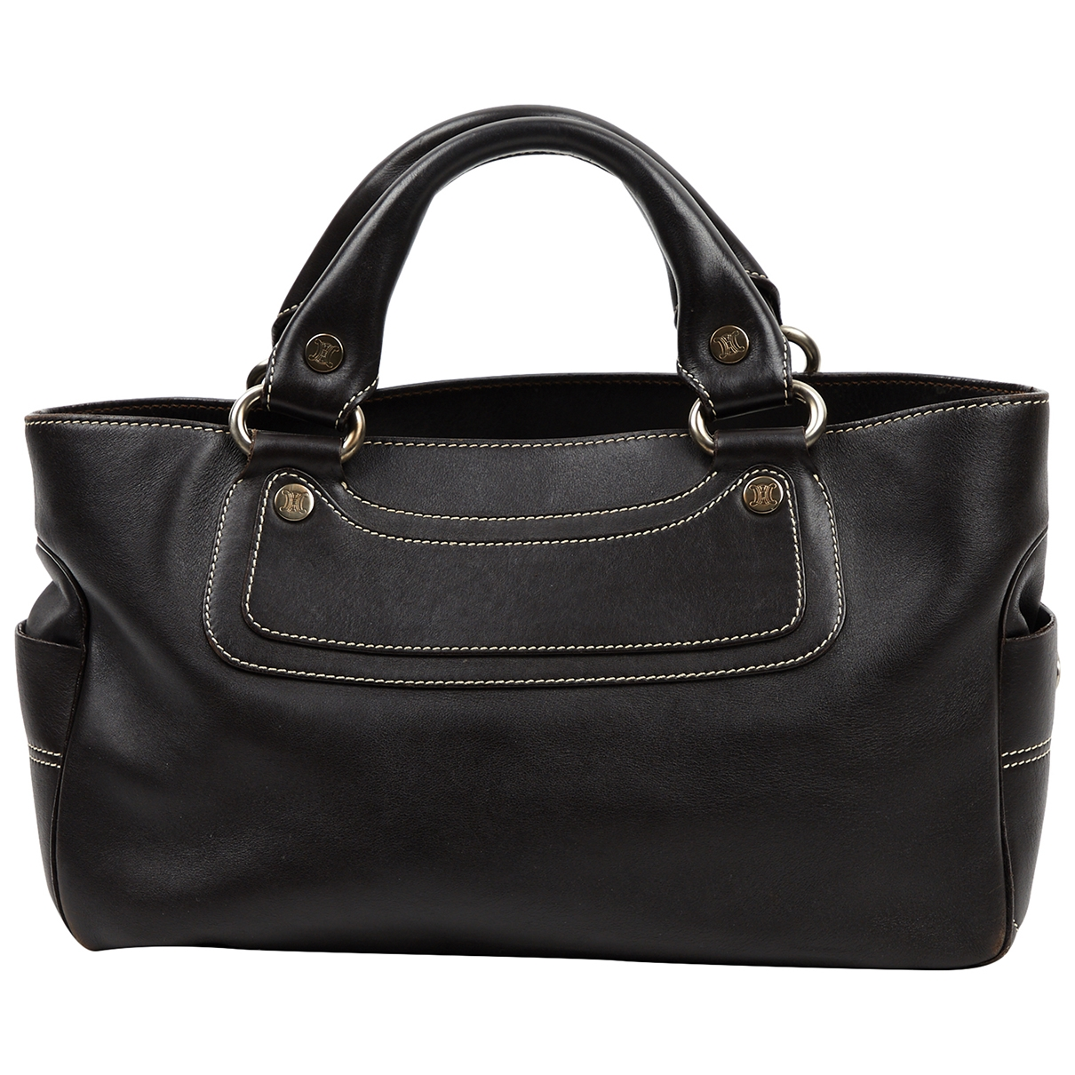 Celine Boogie Brown Leather handbag for Women \N