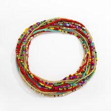 7pcs Beaded Waist Chain
