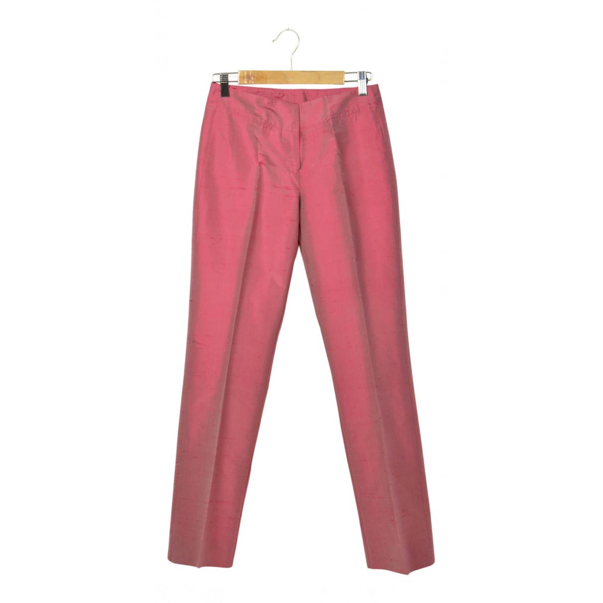 Pantalon largo de Seda Max & Co