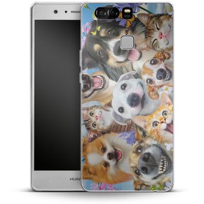 Huawei P9 Silikon Handyhuelle - Selfie Fun in the Sun von Howard Robinson