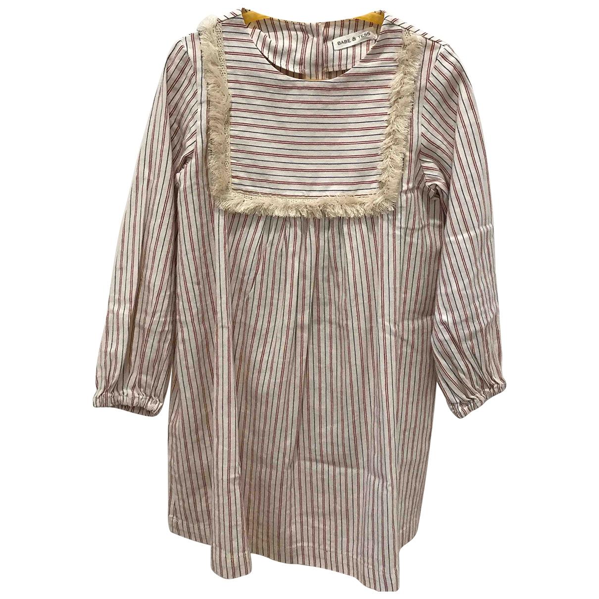 Babe & Tess - Robe    pour enfant en coton - multicolore