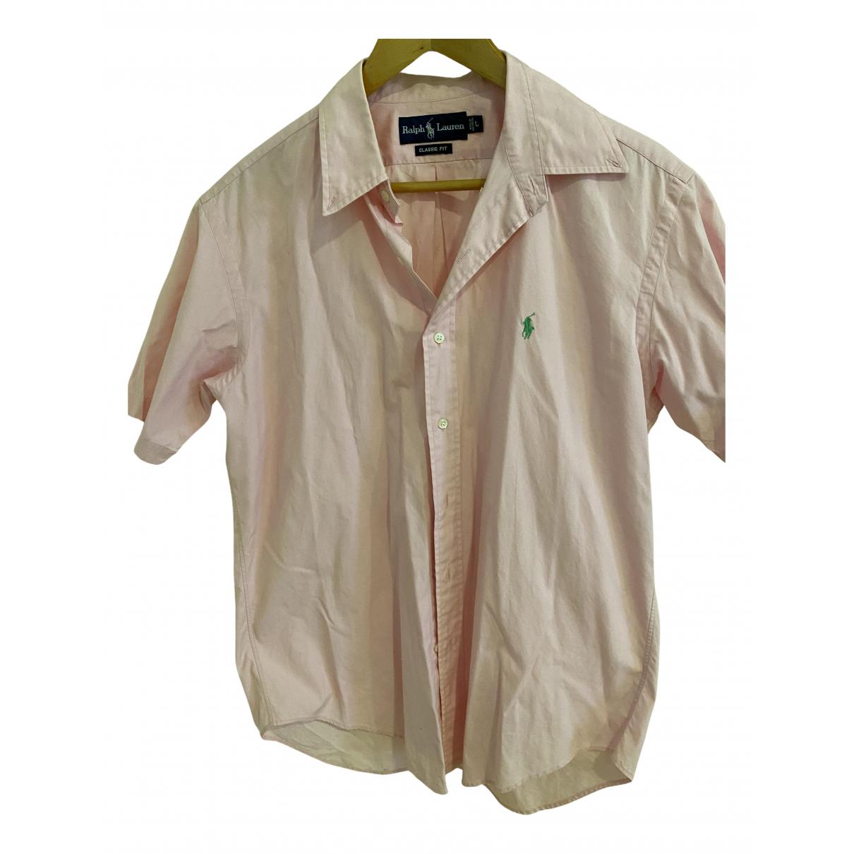 Ralph Lauren N Pink Cotton Shirts for Men L International