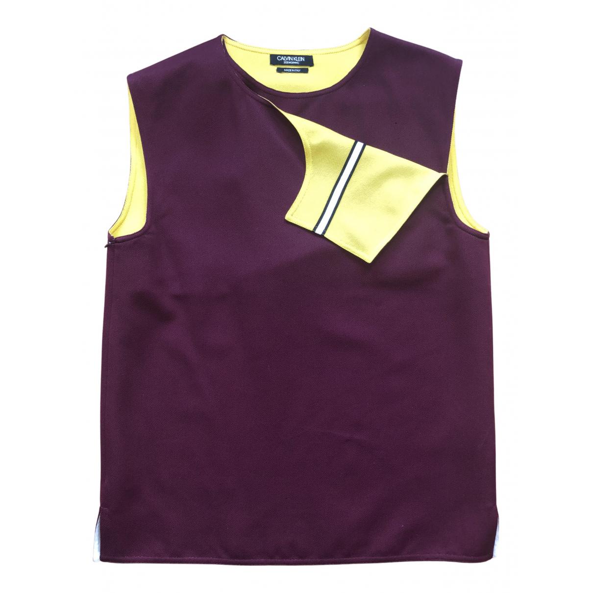Calvin Klein 205w39nyc - Tee shirts   pour homme en autre - bordeaux