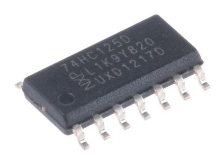 Nexperia 74HC125D,652 Buffer, Line Driver Logic Gate, 14-Pin SOIC (57)