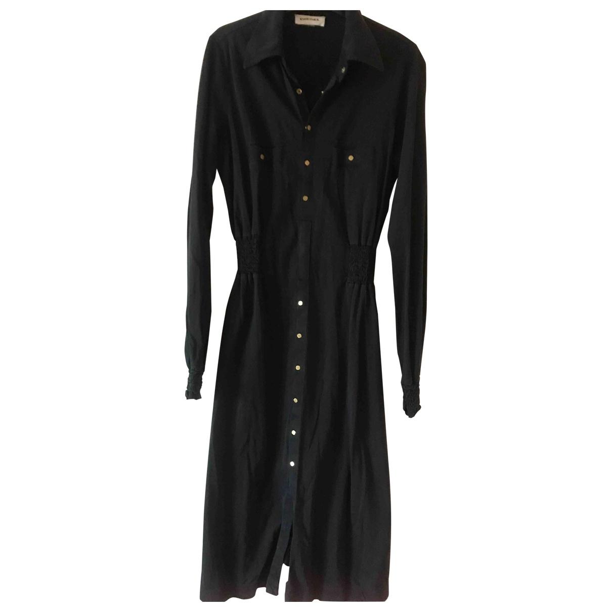 Diesel \N Black Cotton dress for Women S International