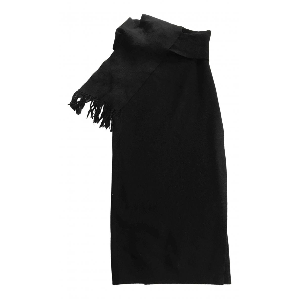 Nicole Farhi - Jupe   pour femme en laine - noir