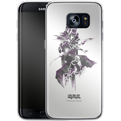 Samsung Galaxy S7 Edge Silikon Handyhuelle - Dark Magician von Yu-Gi-Oh!