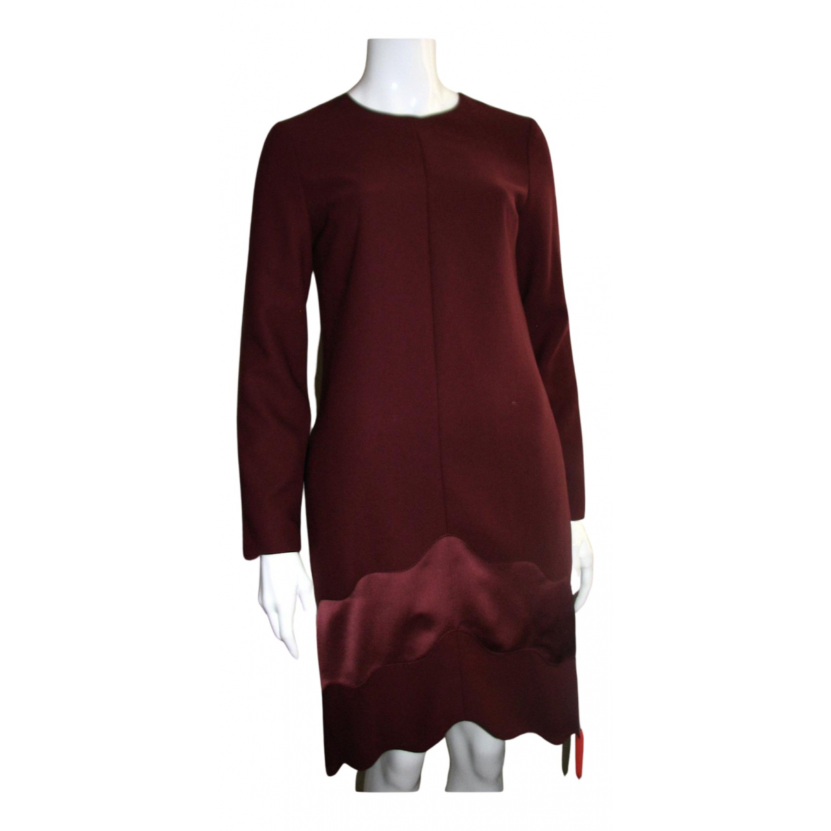 Carven \N Kleid in  Bordeauxrot Polyester