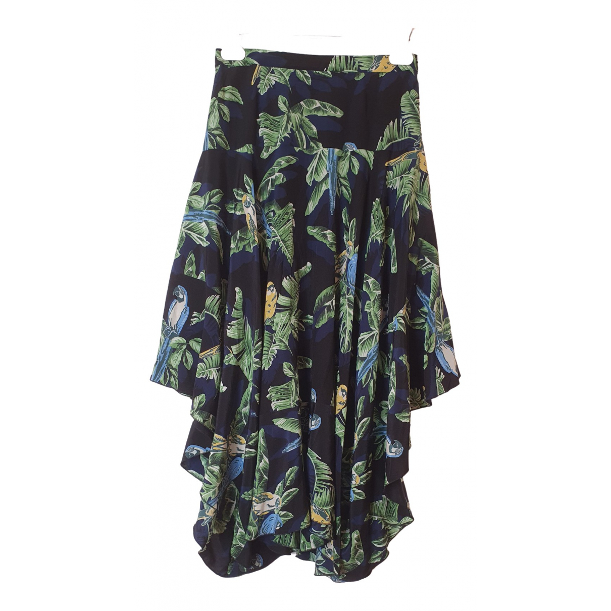 Stella Mccartney - Jupe   pour femme en soie - multicolore