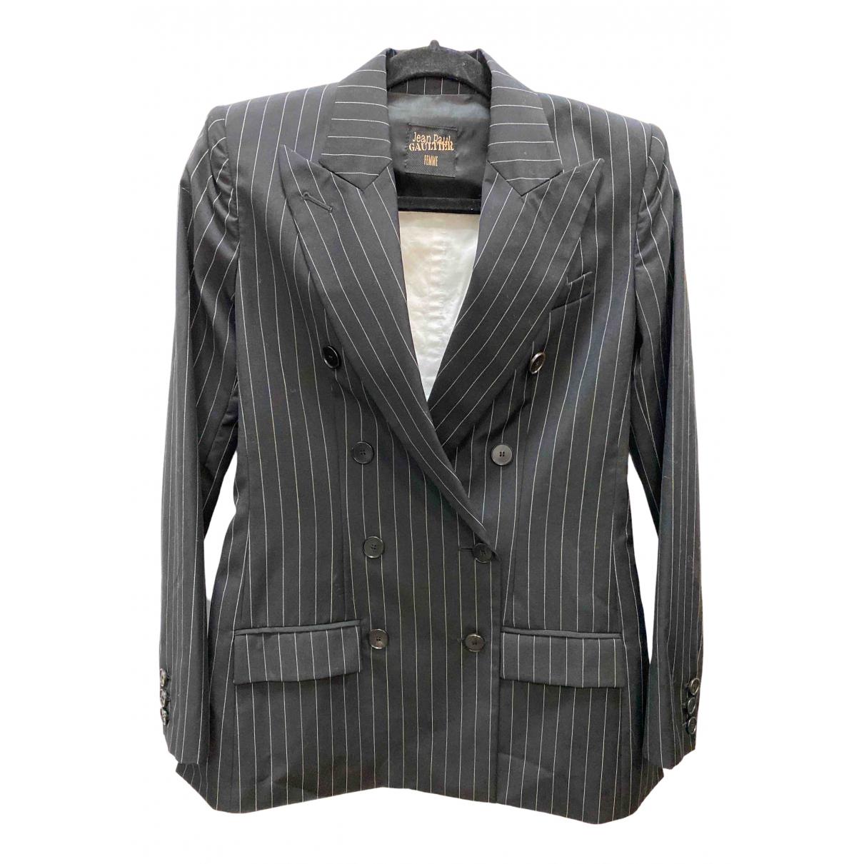 Jean Paul Gaultier - Veste   pour femme en coton - noir